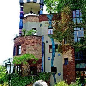 Hundertwasser - Сгради