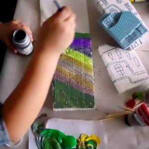 Hundertwasser - оцветяване