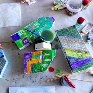 Hundertwasser - оцветяване 2