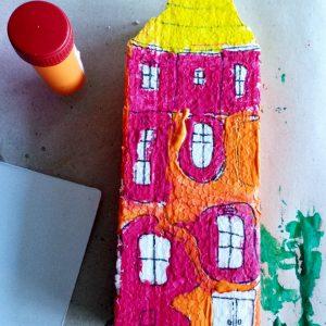 Hundertwasser - оцветяване 3